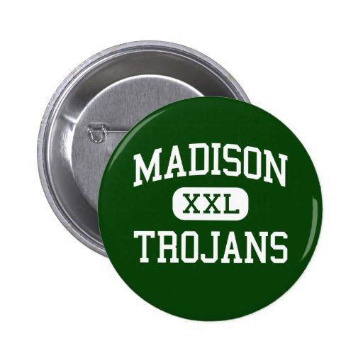 Madison - Trojan - High School secundaria - Madiso Pin Redondo 5 Cm