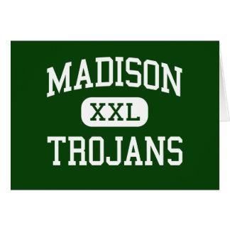 Madison - Trojan - High School secundaria - Madiso Tarjeta De Felicitación