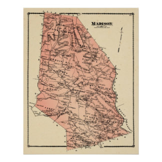 Madison Twp 1876 Beers Atlas Posters