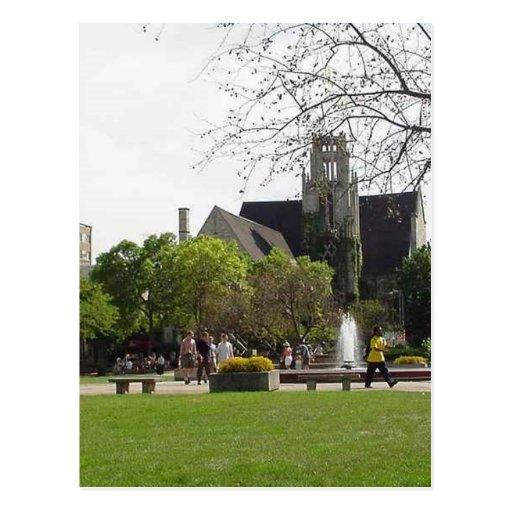 Madison University Fountain Post Card