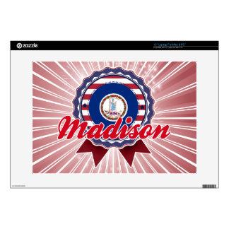 "Madison, VA Decals For 15"" Laptops"