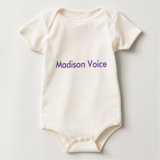 Madison Voice for babies Bodysuits