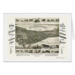 Madison, WI Panoramic Map - 1885 Card