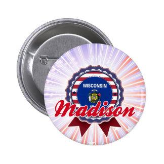 Madison, WI Pin