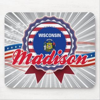 Madison, WI Alfombrillas De Ratón