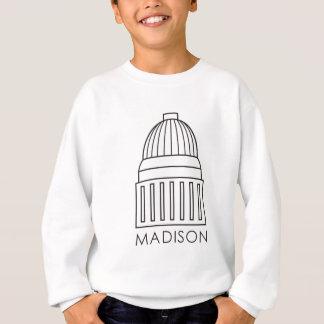 Madison Wisconsin Capitol Building Sweatshirt