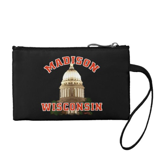 Madison,Wisconsin Coin Wallet