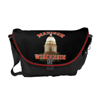 Madison,Wisconsin Courier Bag