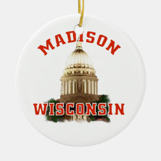 Madison, Wisconsin Ornamentos De Reyes