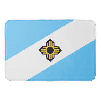 Madison, Wisconsin Flag Bath Mat