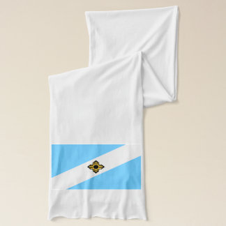 Madison, Wisconsin Flag Scarf