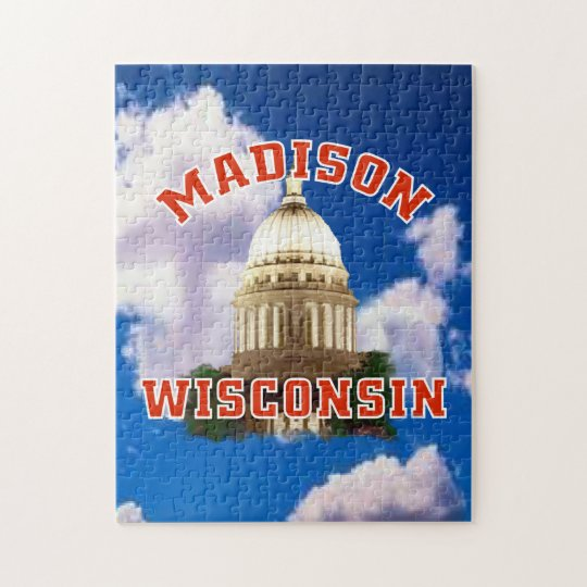 Madison,Wisconsin Jigsaw Puzzle