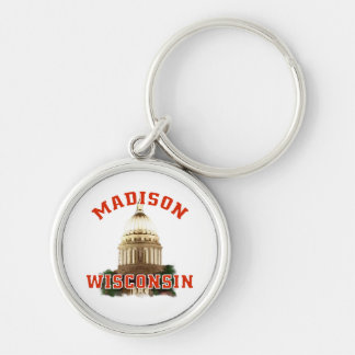 Madison,Wisconsin Keychain