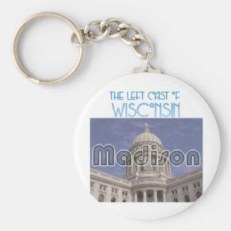 Madison Wisconsin Keychain