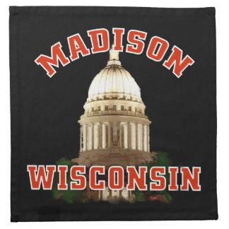 Madison Wisconsin MoJo Napkins