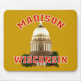Madison,Wisconsin Mouse Pad