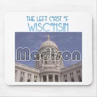 Madison Wisconsin Mouse Pad