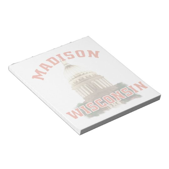 Madison,Wisconsin Notepad