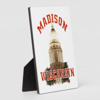 Madison,Wisconsin Photo Plaque