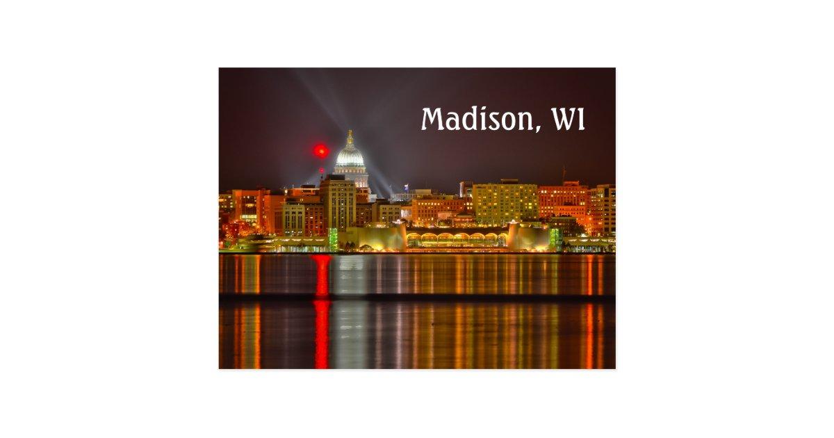 Decorating Ideas > Madison, Wisconsin Postcard  Zazzle ~ 222501_Birthday Party Ideas Madison Wi