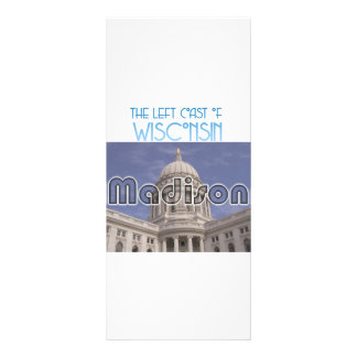 Madison Wisconsin Rack Card