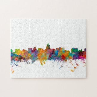 Madison Wisconsin Skyline Jigsaw Puzzle