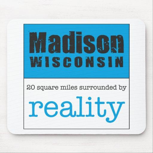 Madison Wisconsin Tapete De Ratón