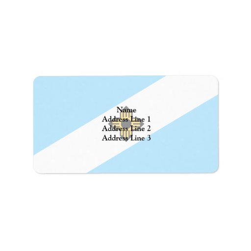 Madison Wisconsin, United States Personalized Address Labels