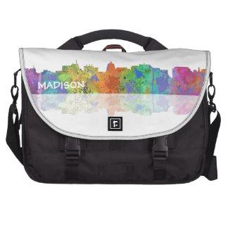 MADISON, WISCONSON SKYLINE - Commuter Laptop Bag