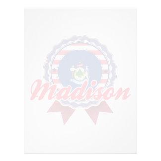 Madison, YO Plantilla De Membrete
