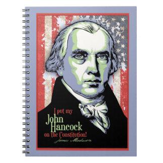 Madison's Hancock Notebook
