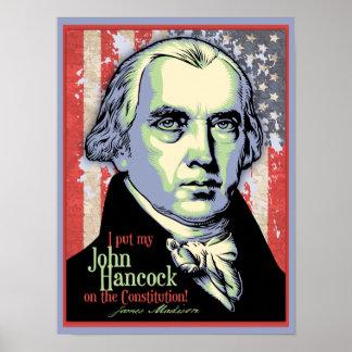 Madison's Hancock Poster