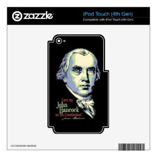 Madison's Hancock iPod Touch 4G Skin