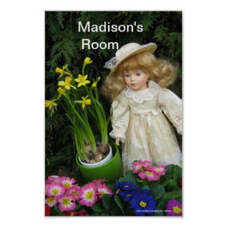 Madison's room poster