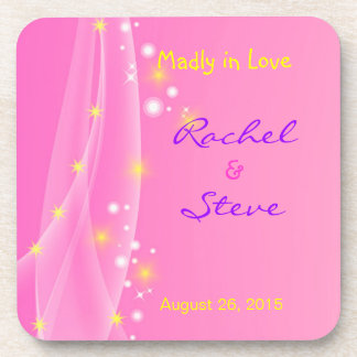 Madly in Love Wedding Coasters for Newly Weds
