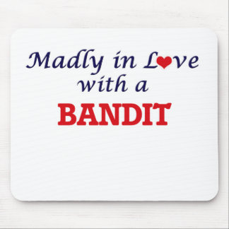 Madly in love with a Bandit Mouse Pad