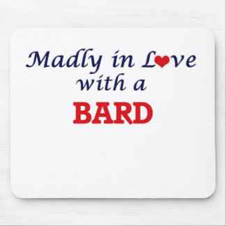 Madly in love with a Bard Mouse Pad