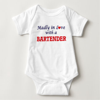 Madly in love with a Bartender Baby Bodysuit