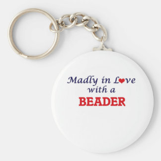 Madly in love with a Beader Keychain