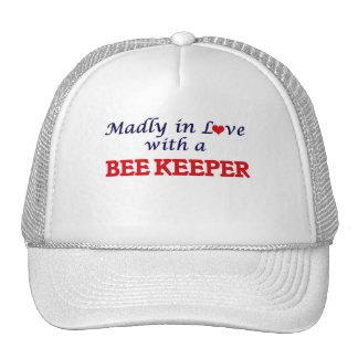 Madly in love with a Bee Keeper Trucker Hat