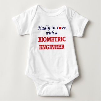 Madly in love with a Biometric Engineer Baby Bodysuit