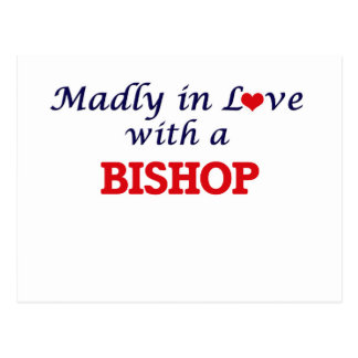 Madly in love with a Bishop Postcard