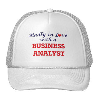 Madly in love with a Business Analyst Trucker Hat