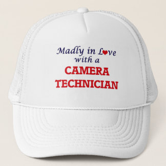 Madly in love with a Camera Technician Trucker Hat