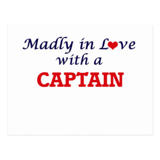 Madly in love with a Captain Postcard