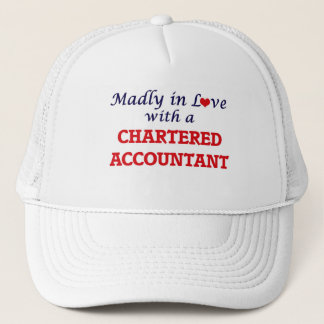 Madly in love with a Chartered Accountant Trucker Hat