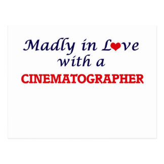 Madly in love with a Cinematographer Postcard