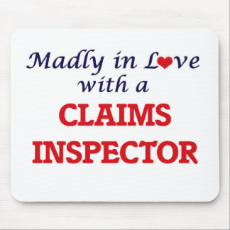 Madly in love with a Claims Inspector Mouse Pad