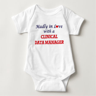Madly in love with a Clinical Data Manager Baby Bodysuit