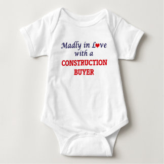 Madly in love with a Construction Buyer Baby Bodysuit